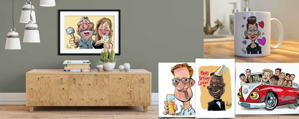 Portrait caricatures