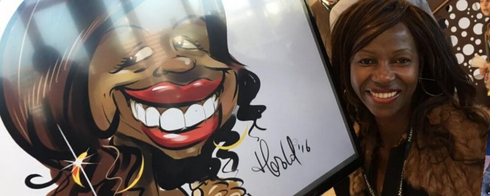 A caricaturist at your event